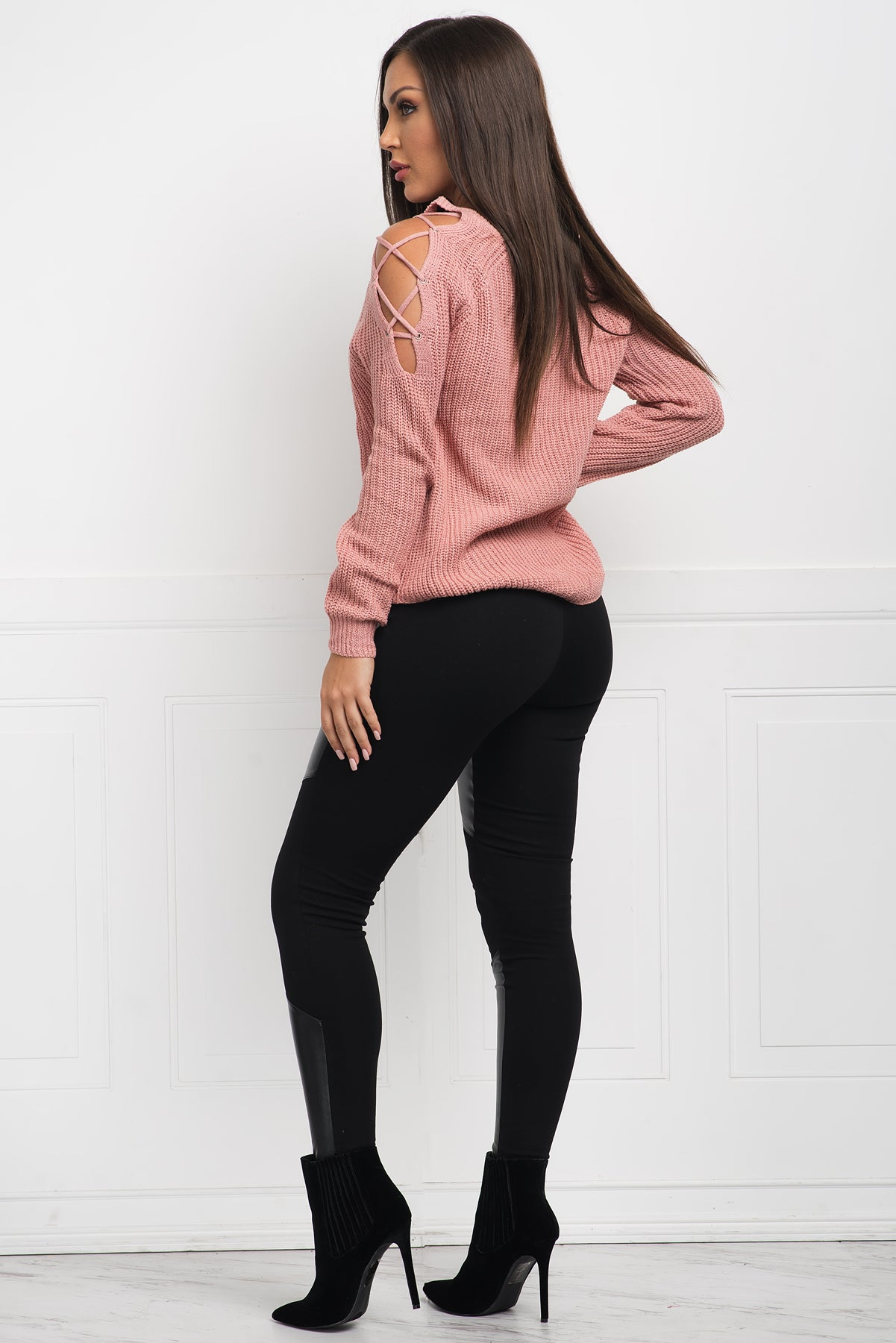 Brandy Sweater - Pink