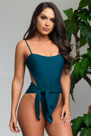 Blue Lagoon One Piece Swimsuit Teal