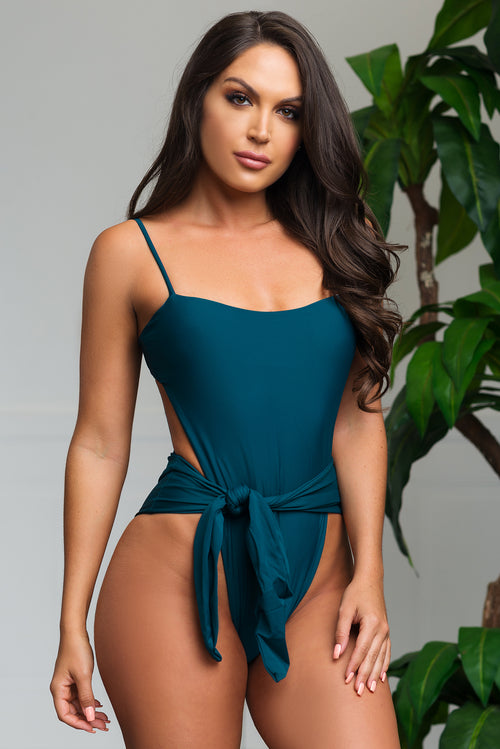 Blue Lagoon One Piece Swimsuit - Teal