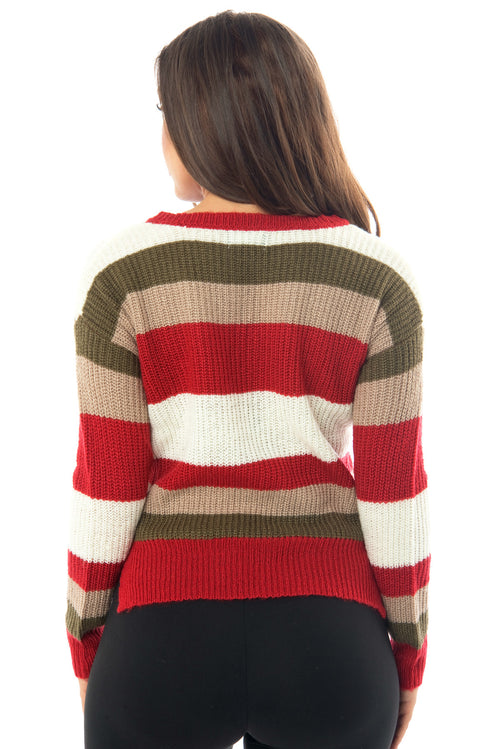 Megan Striped Sweater - Fashion Effect Store  - 2