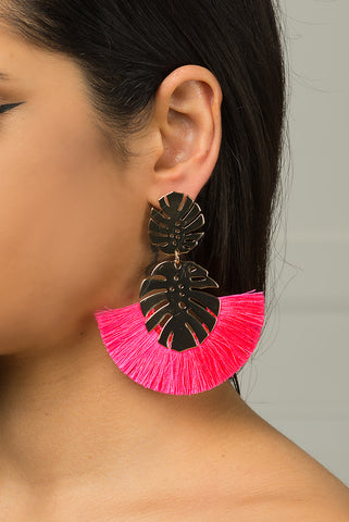 Kamila Earrings Rose Gold
