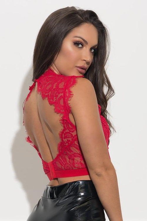 Fanny Bralette  - Red