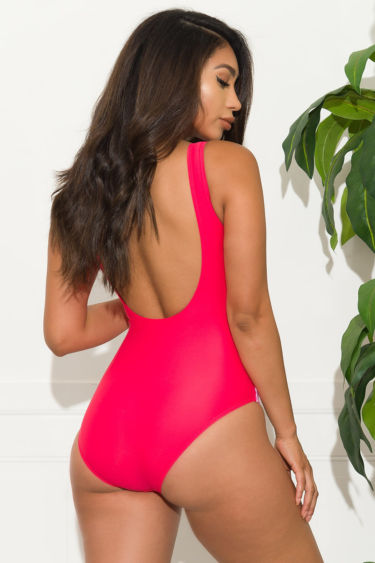 Del Mar One Piece Swimsuit - Pink