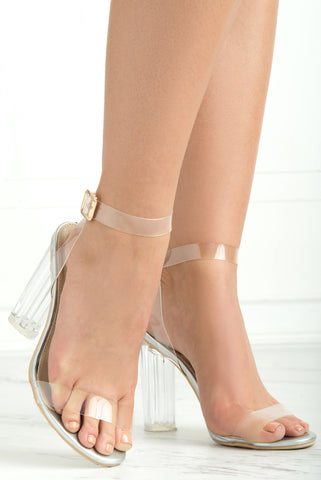 Unbreakable Clear Heels - Fashion Effect Store  - 1