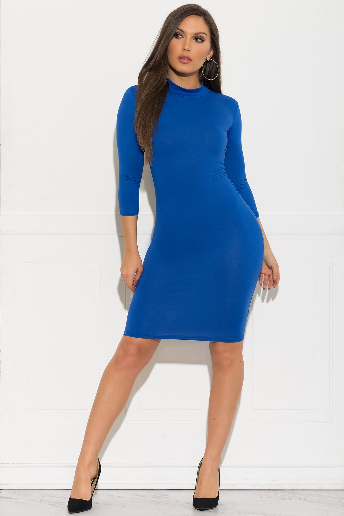 Gia Dress - Royal Blue