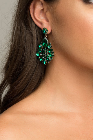 Daryel Earrings - Green