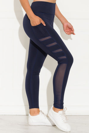 Let's Move Leggings Navy