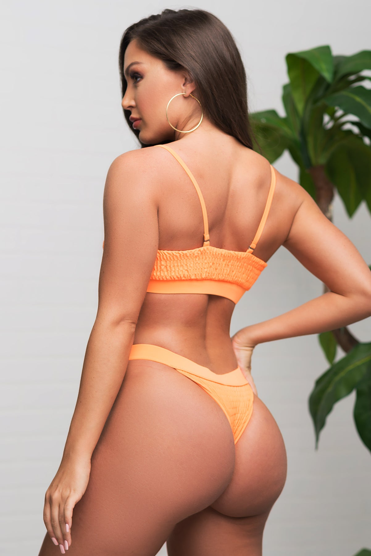 Breakwater Beach Swimsuit - Coral