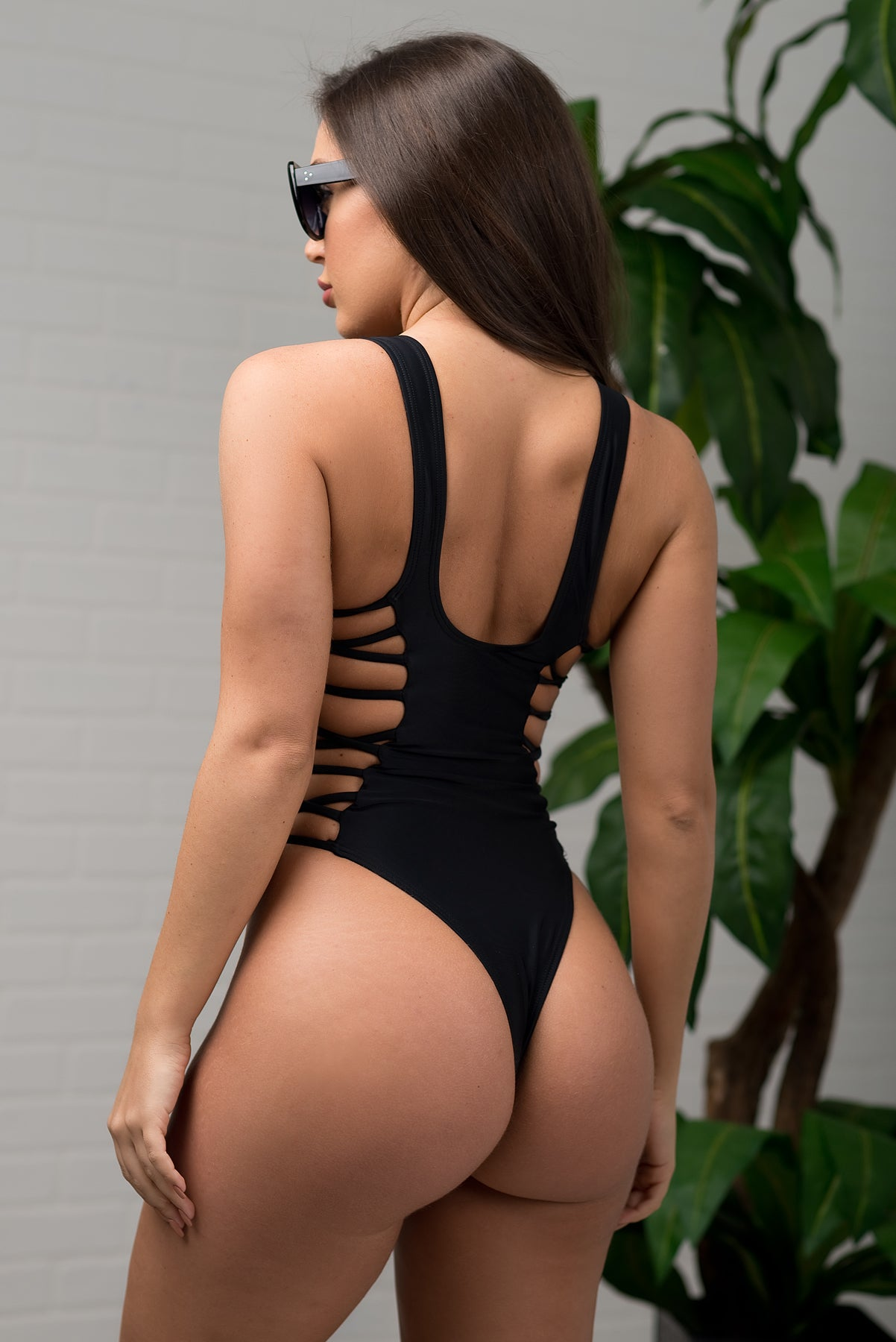 Queen Island Monokini BLACK