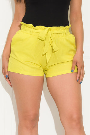 Willow Shorts Lime