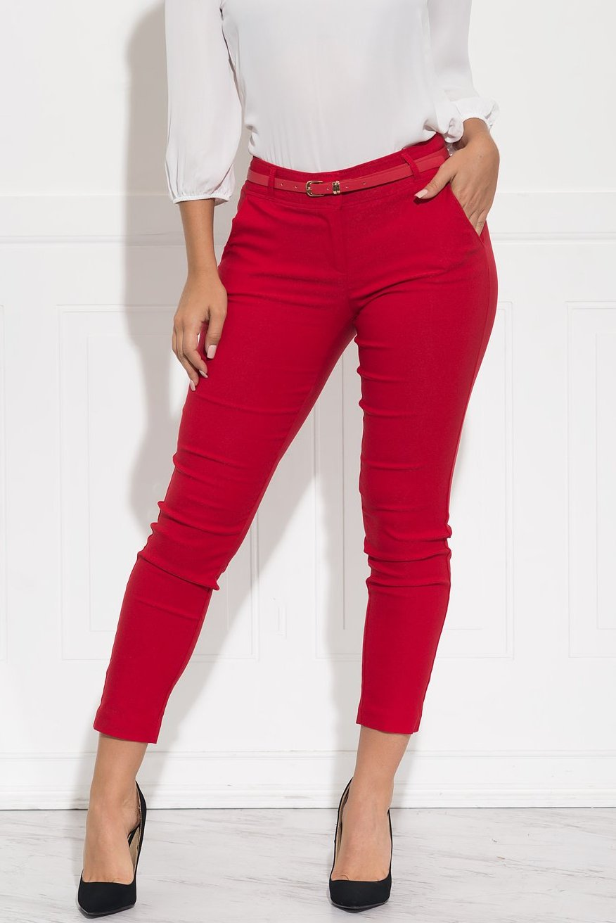 Get Down To Business Pants - Red