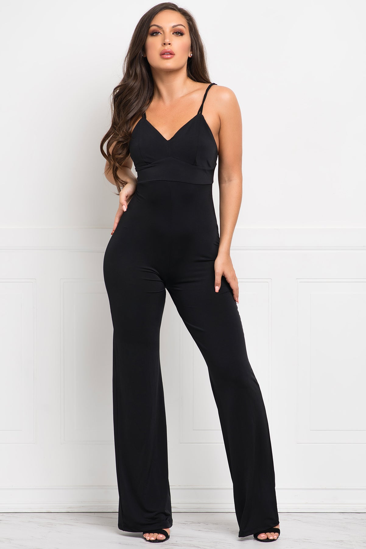 Tiara Jumpsuit - Black