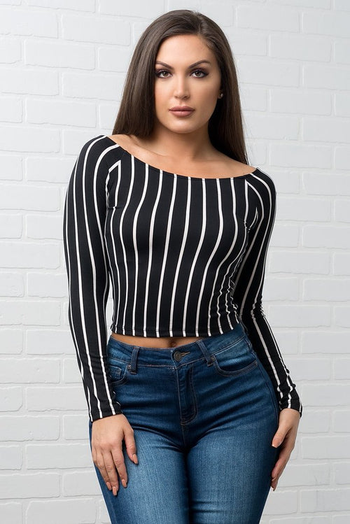 Dakota Striped Top