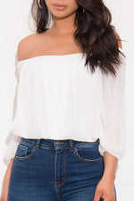 Something Different Blouse Off White