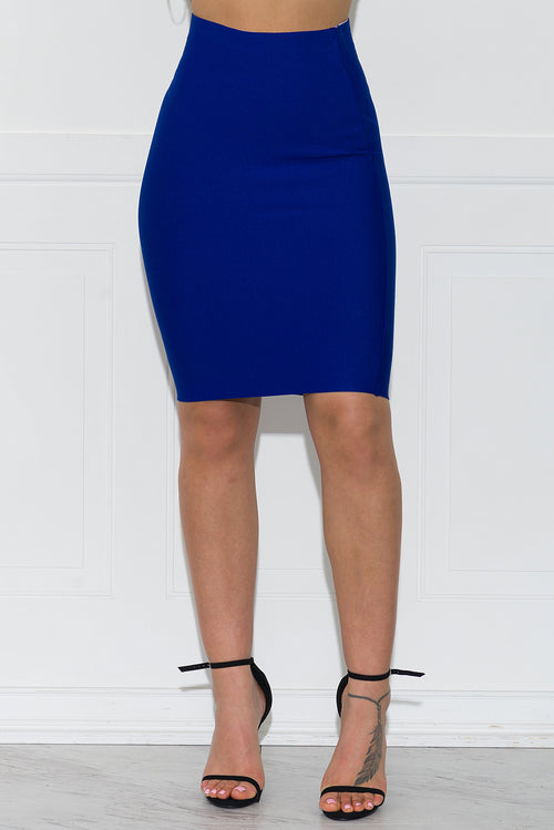 Stella Bandage Skirt- Royal Blue