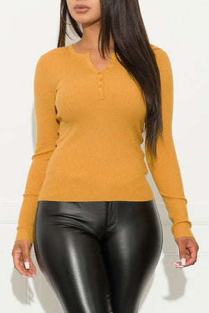 Little Crush Sweater Mustard