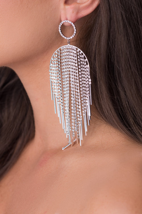 Yvelisse Earrings - Silver