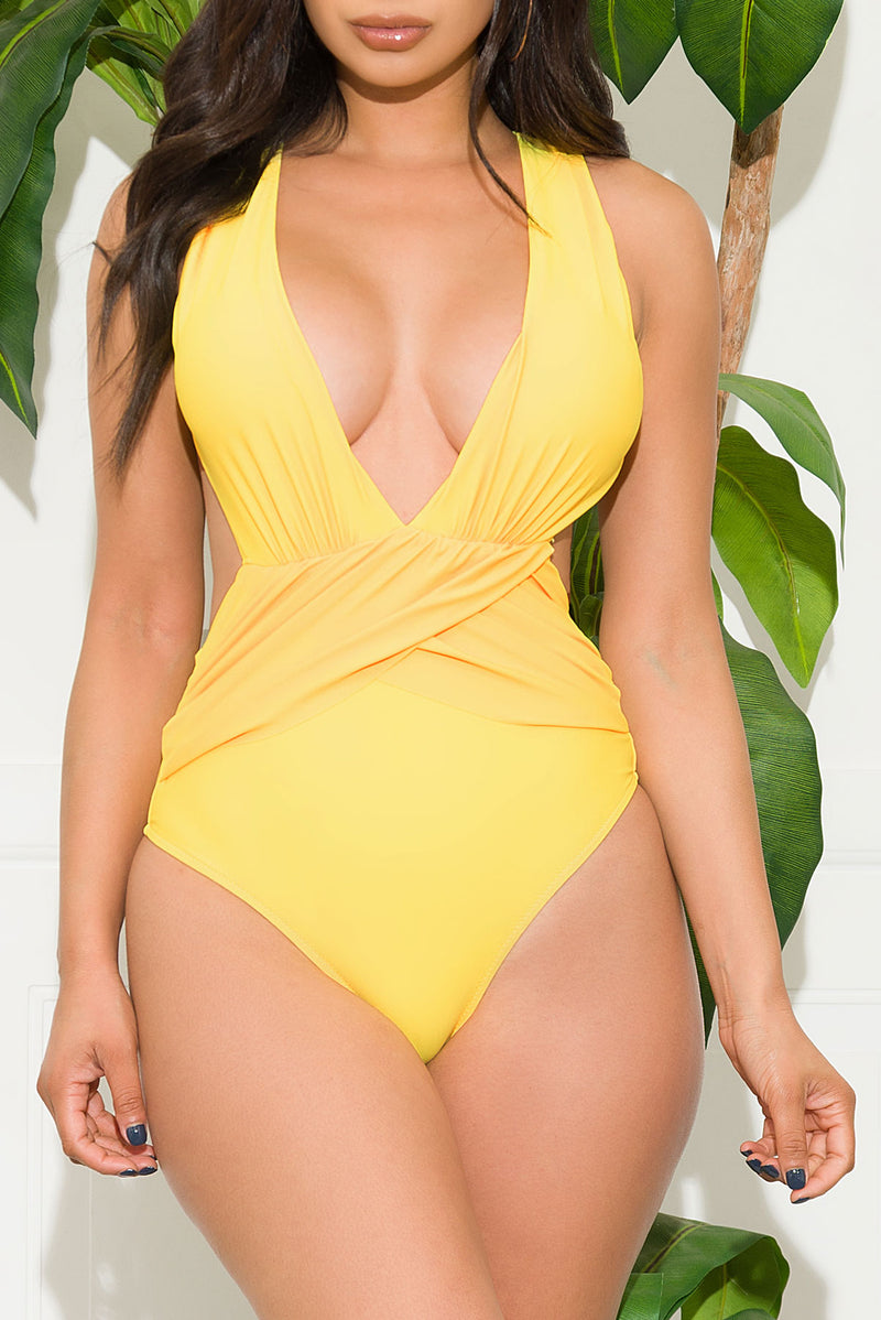 Terra Mar Point One Piece Swimsuit