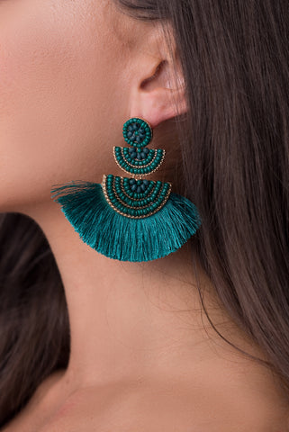 Danielle Earrings - Navy