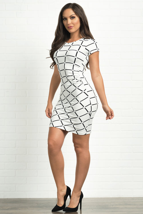 Fiorella Dress -White