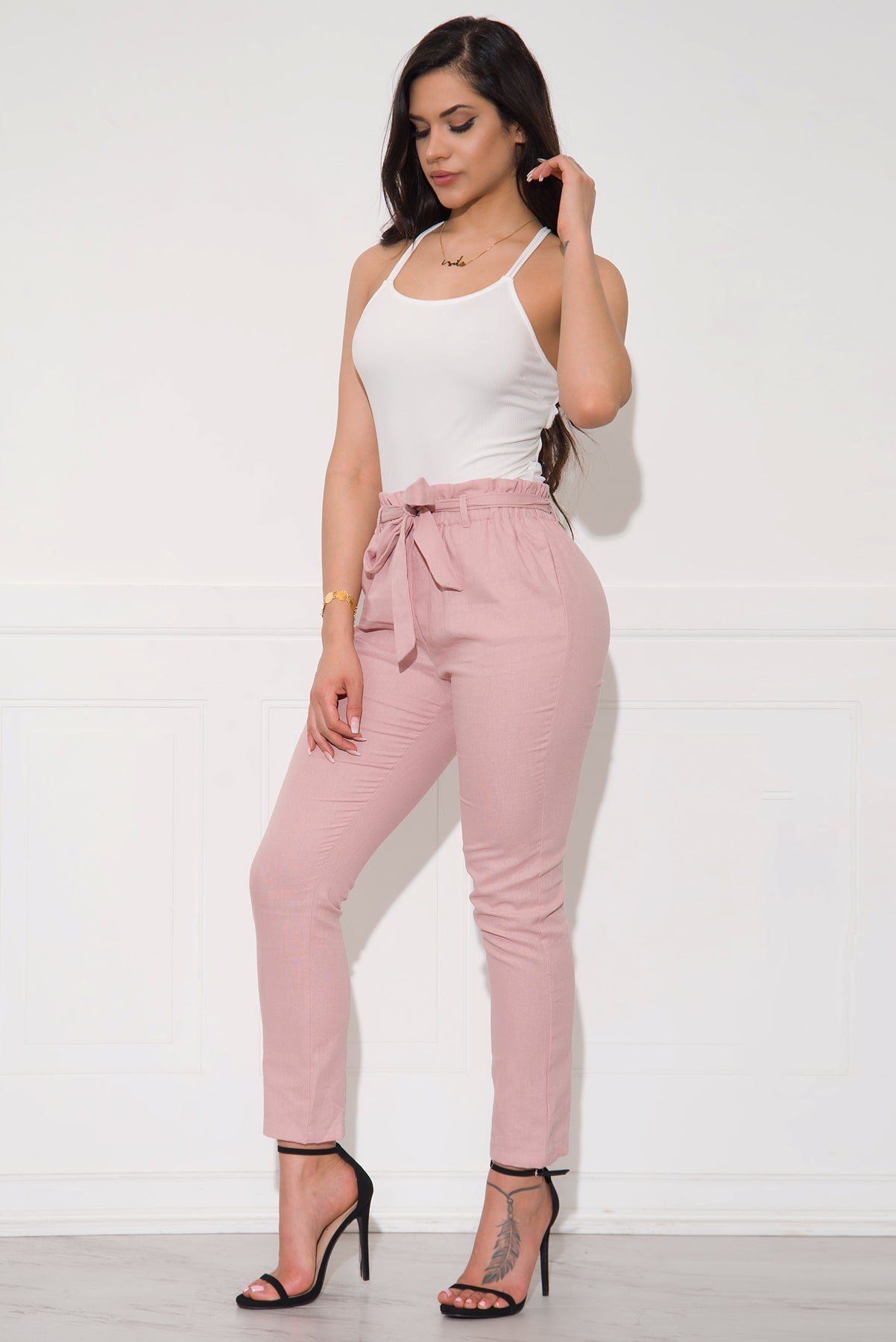 Tatiana Pants - Dusty Pink