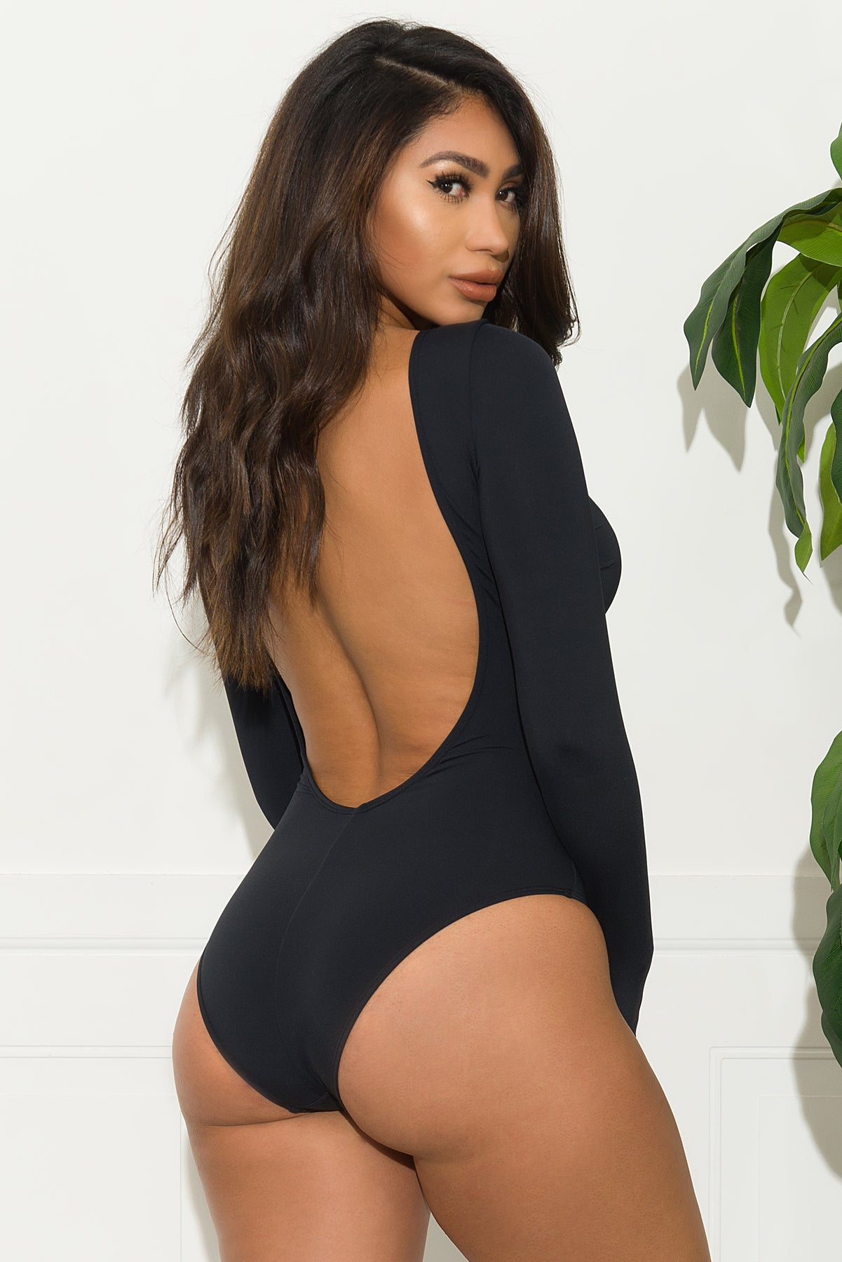Pleasure Beach One Piece Swimsuit - Black