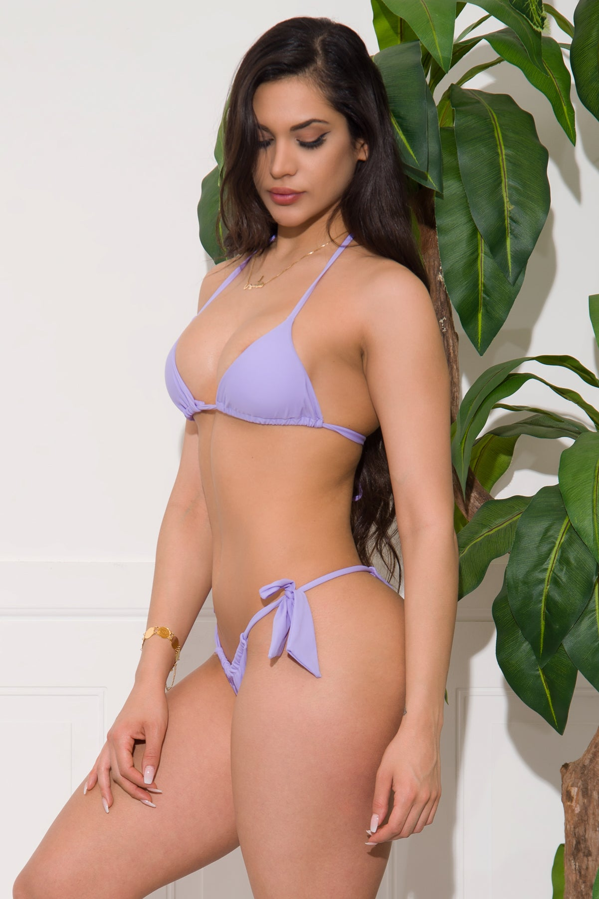 Waikiki Two Piece Swimsuit - Lavender