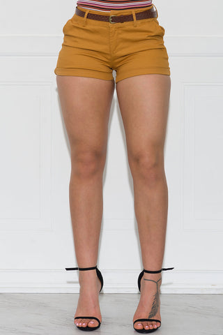 Giselle Striped Pants - Black/Mustard