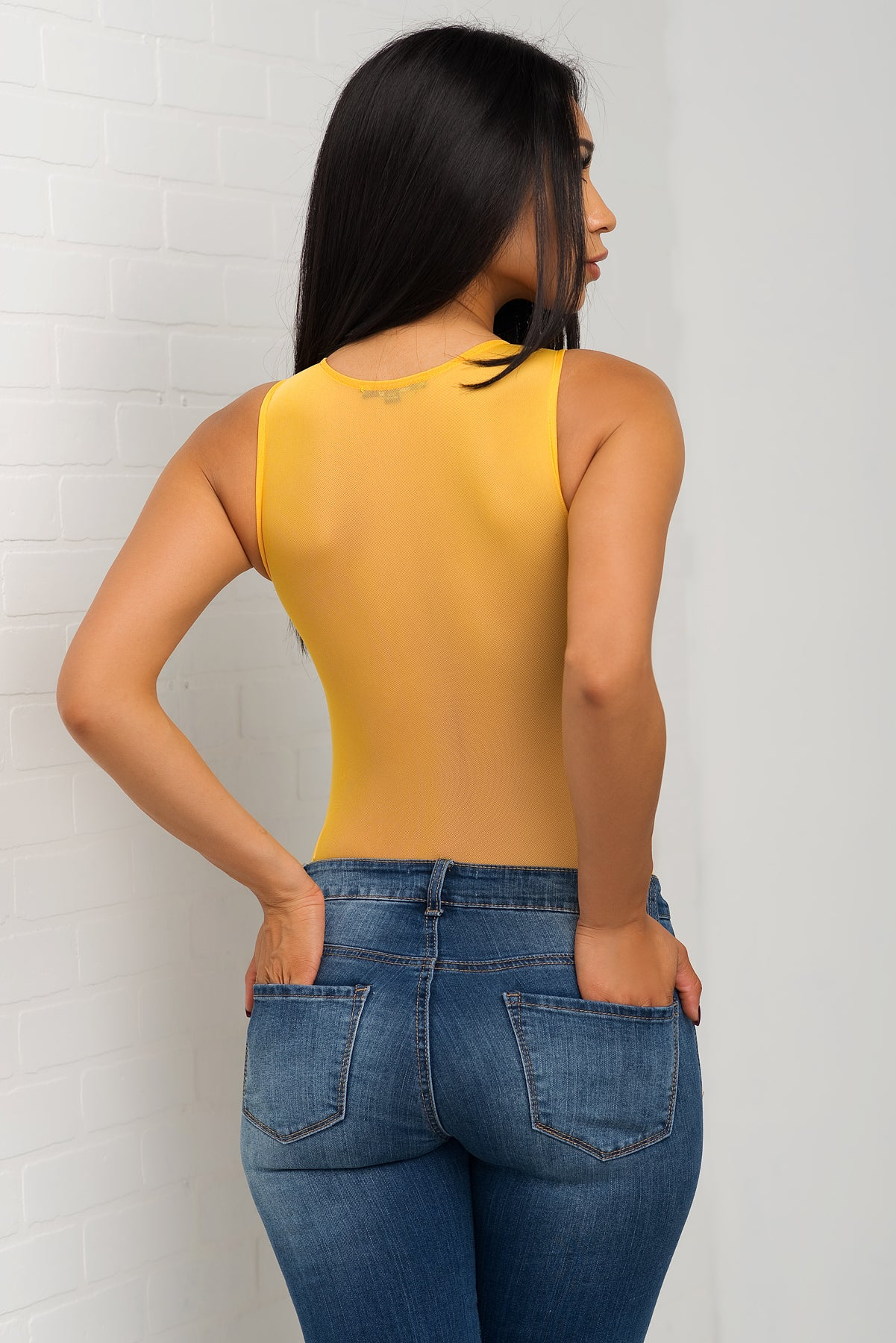 Savannah Bodysuit - Yellow