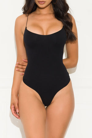 Basic And Beautiful Bodysuit Black