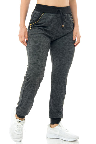 Camila Charcoal Joggers - Fashion Effect Store  - 1
