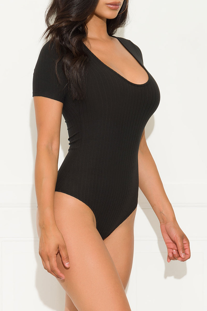 Best Behavior Bodysuit Black