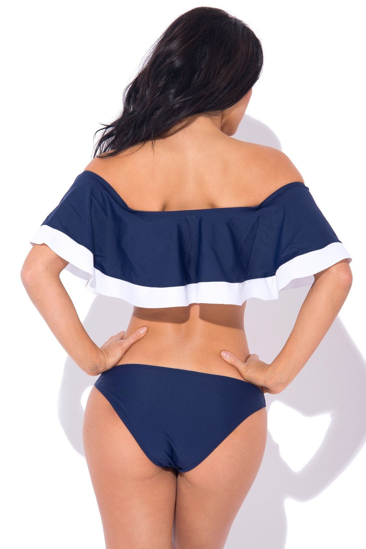 Cayman Islands Two Piece Swimsuit NAVY