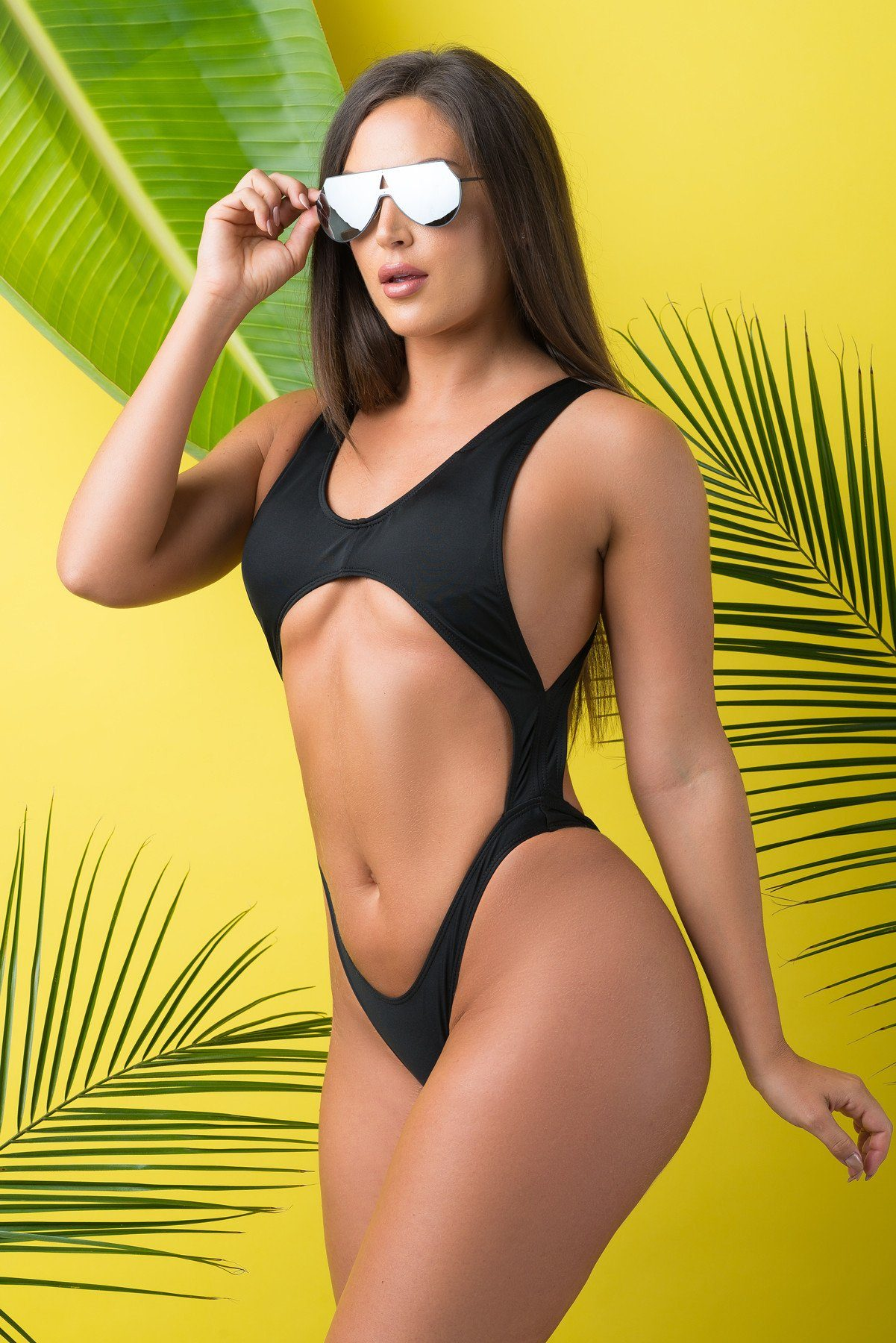 Champagne Bay One Piece Swimsuit