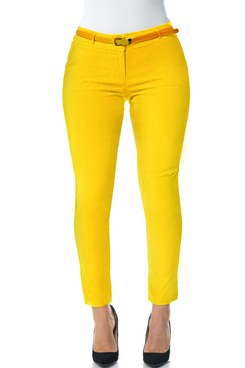 Get Down To Business Pants YELLOW