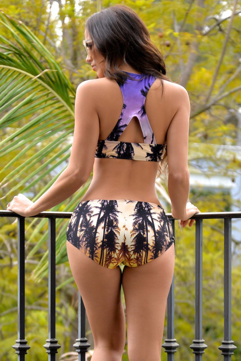 RESTOCK California Dream Two Piece Bathing-suit - Fashion Effect Store  - 2