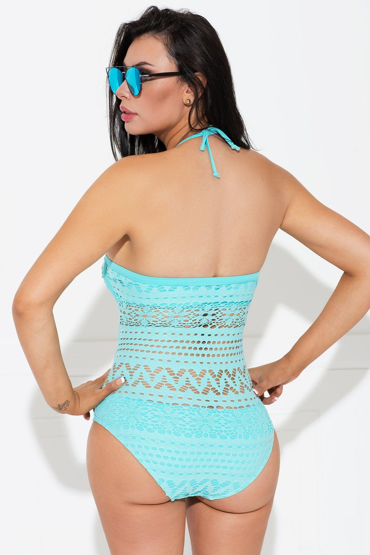 Dress - Cozumel Mint One Piece