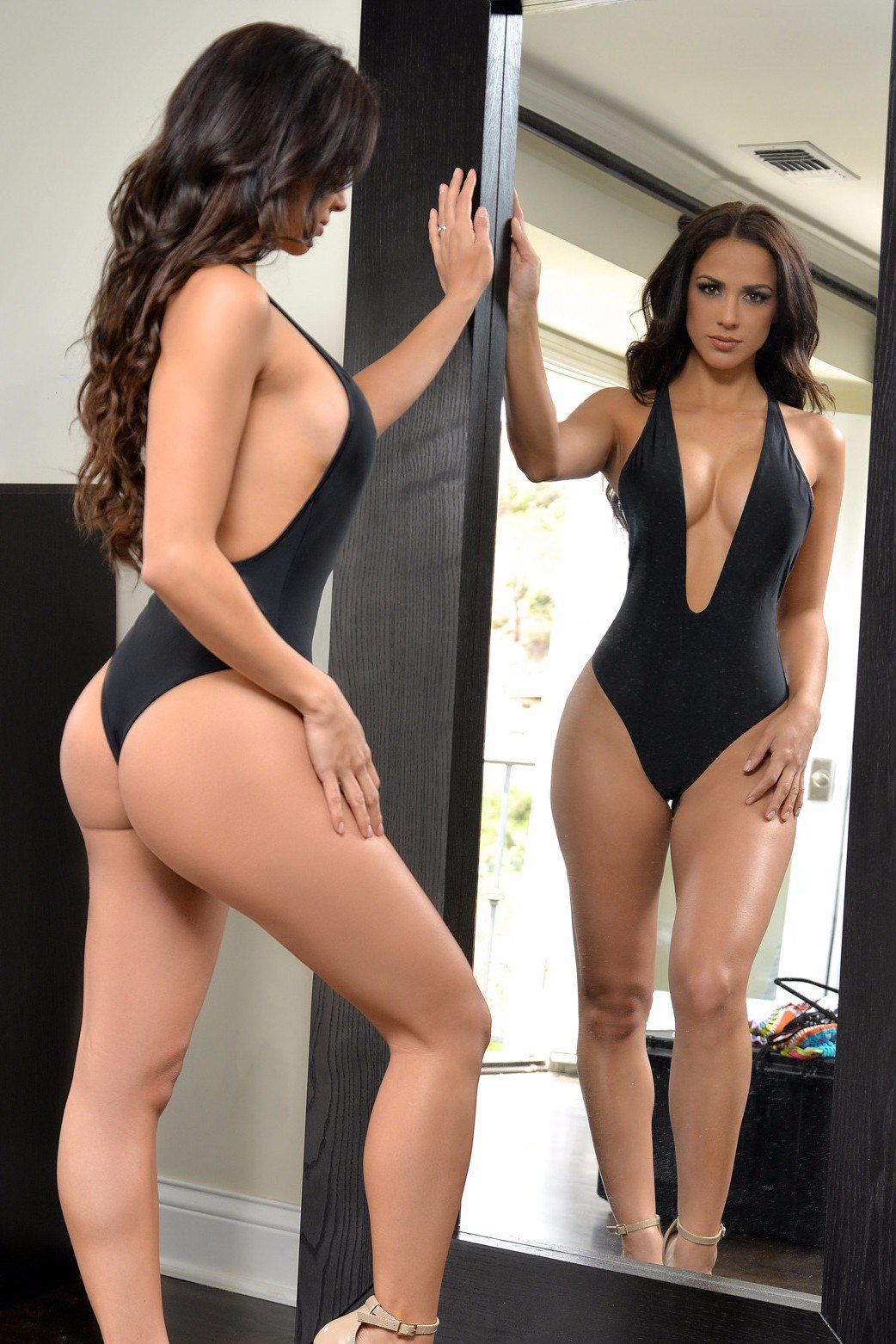 Long Bay Black One Piece - Fashion Effect Store  - 2