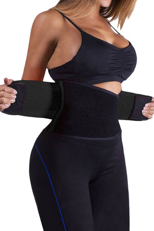 Power Belt And Waist Trainer Black - Fashion Effect Store  - 1