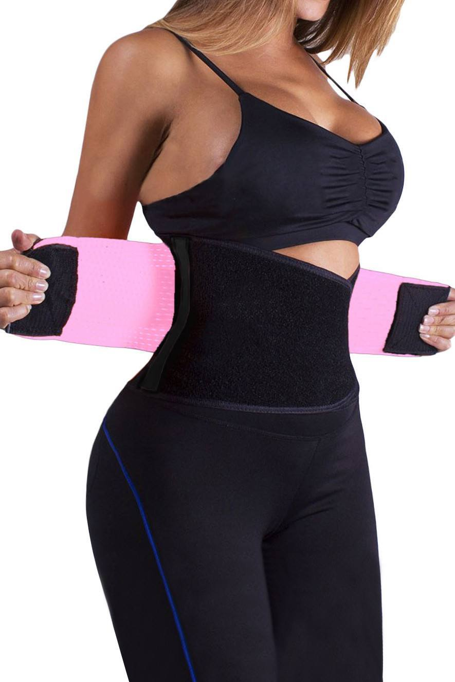 Power Belt And Waist Trainer Pink - Fashion Effect Store  - 1