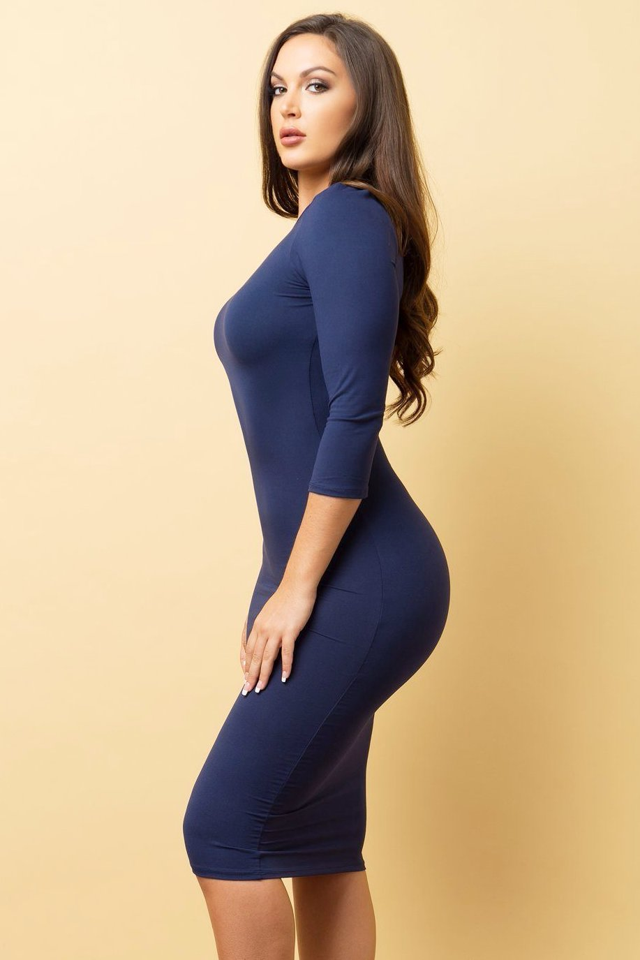 Dress - RESTOCKED Carol Dress - Navy Blue