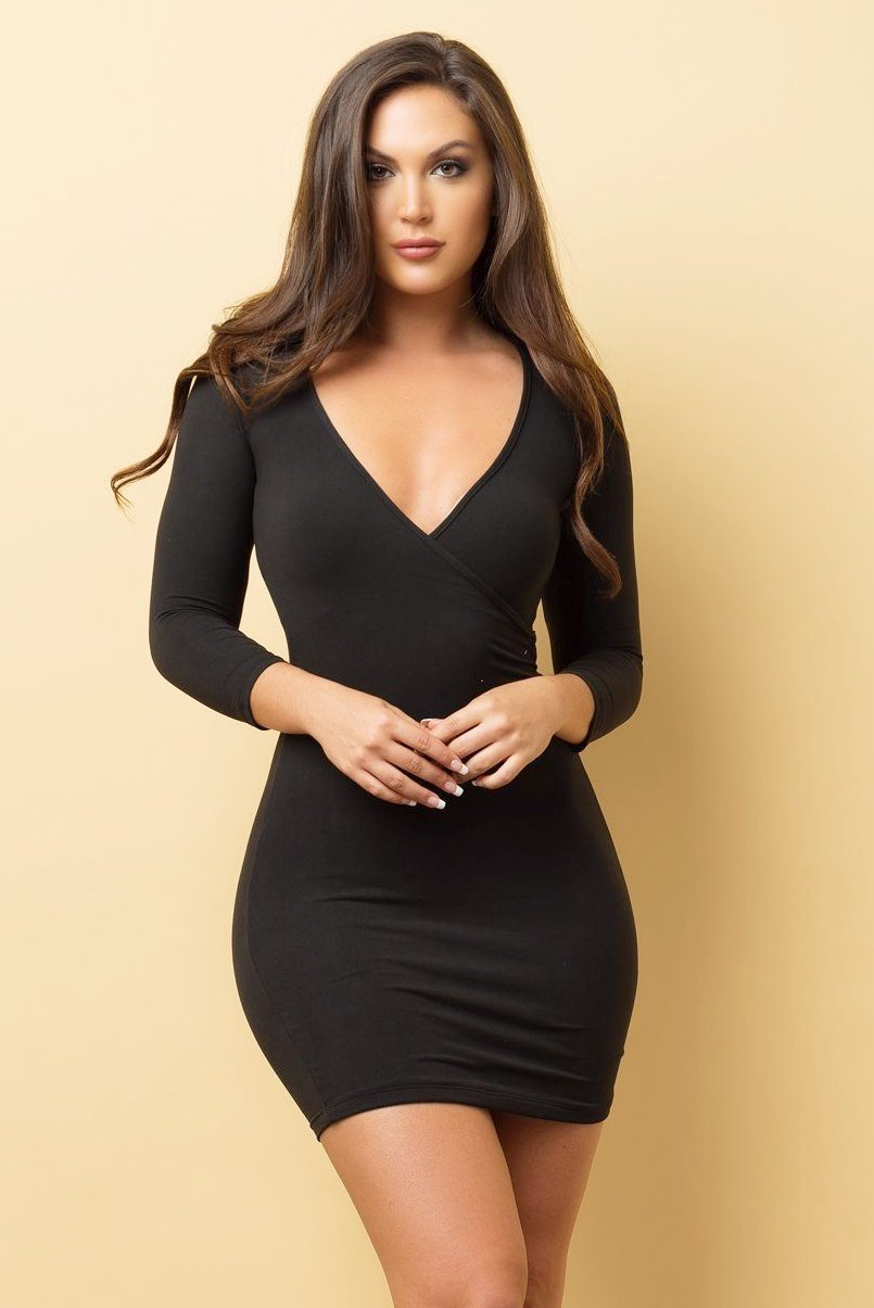 Dress - RESTOCKED -  Katy Dress - Black