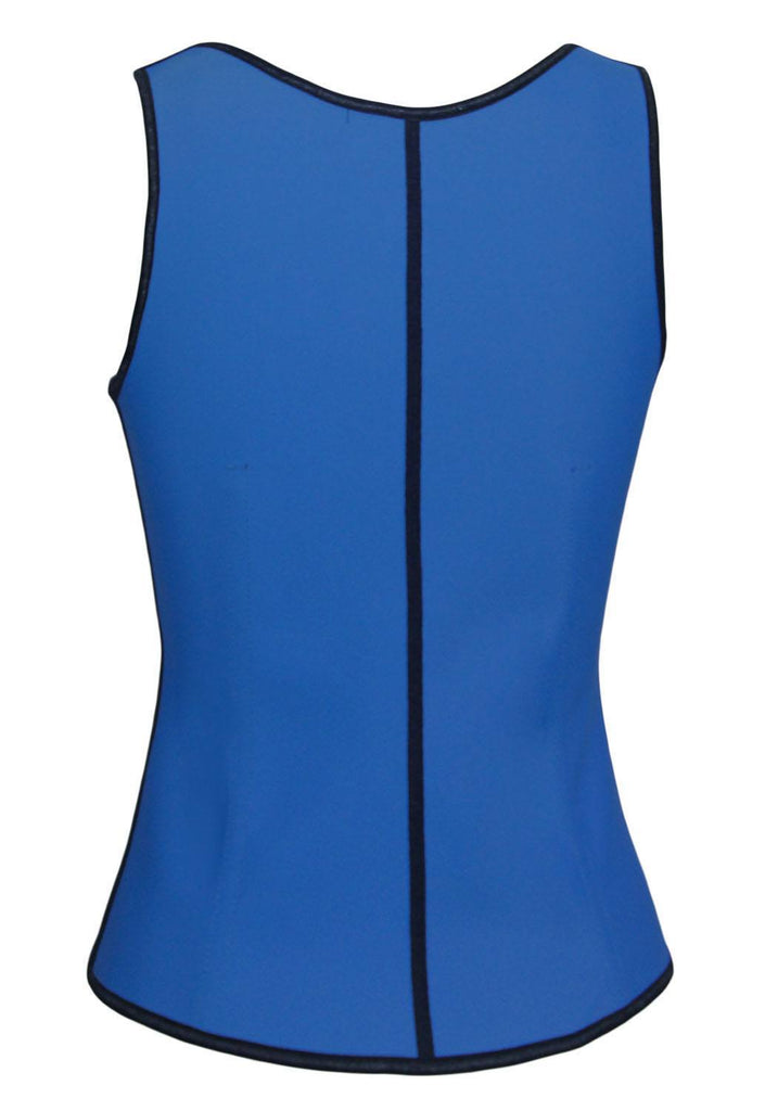 Waist Trainer Blue (with shoulder straps) - Fashion Effect Store  - 2