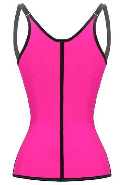 Waist Training Pink (with Slim Shoulder Straps) - Fashion Effect Store  - 3