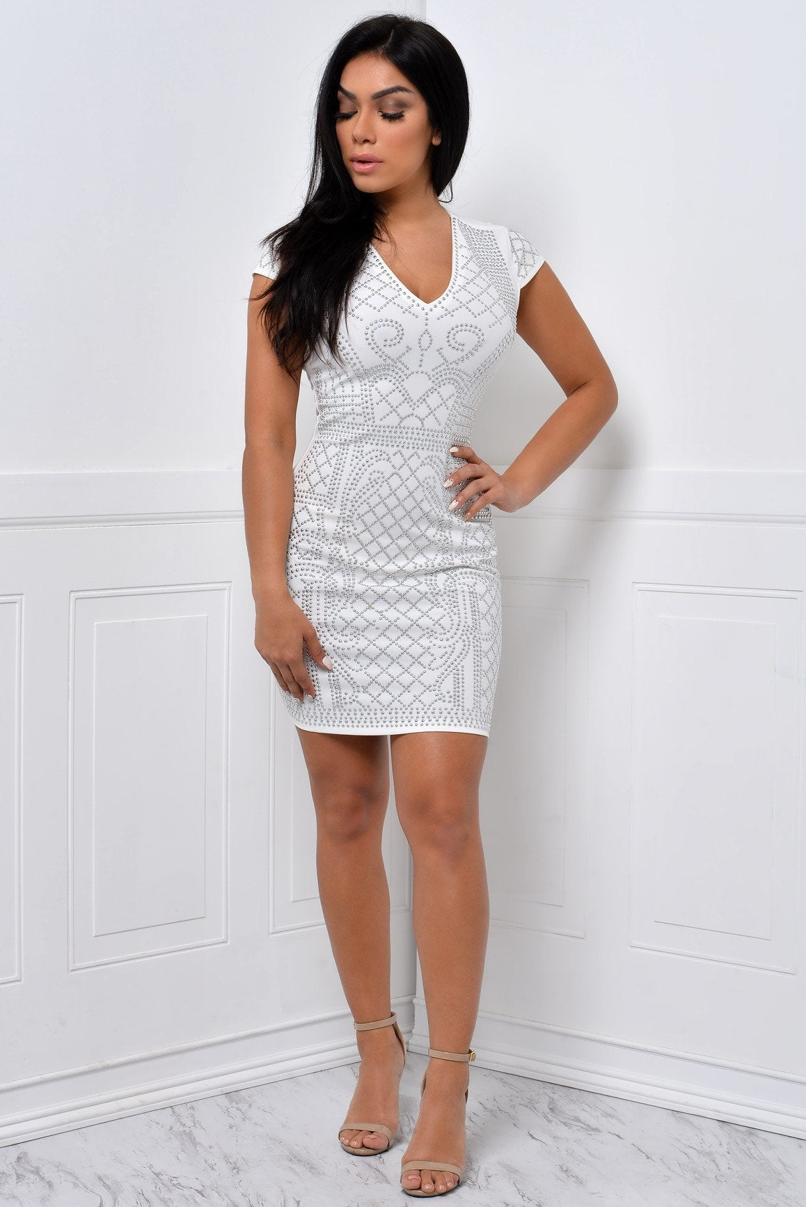 You Will Never Know White Dress - Fashion Effect Store  - 1