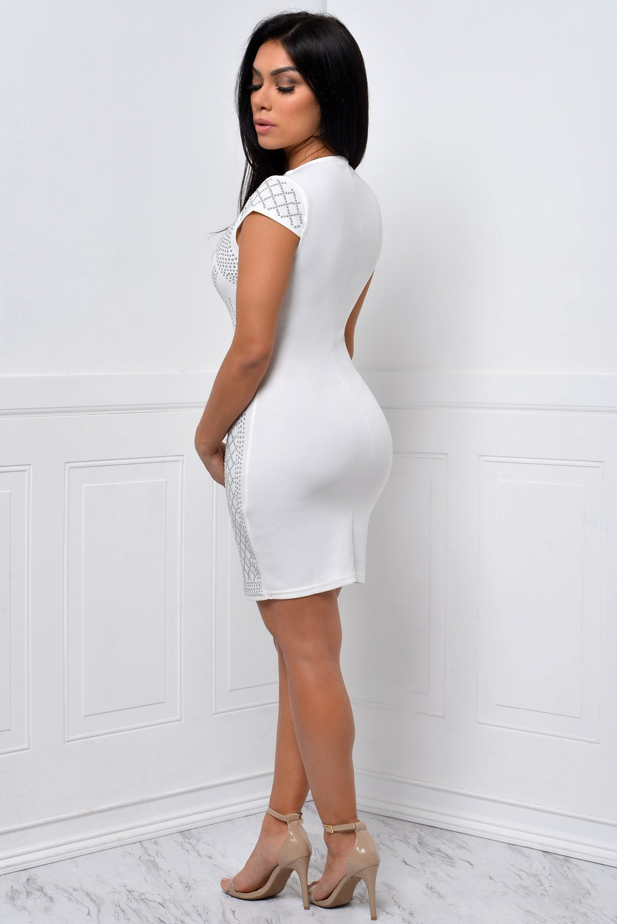 You Will Never Know White Dress - Fashion Effect Store  - 2