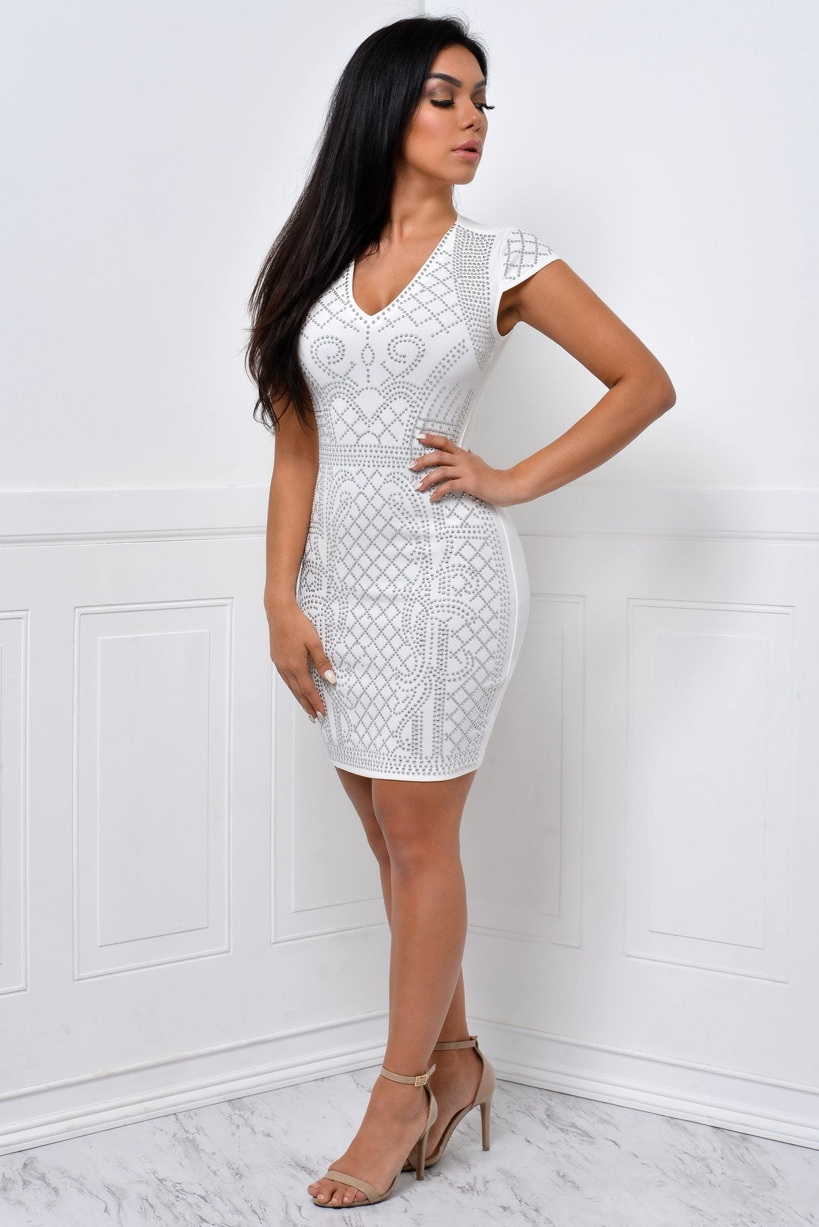 You Will Never Know White Dress - Fashion Effect Store  - 3
