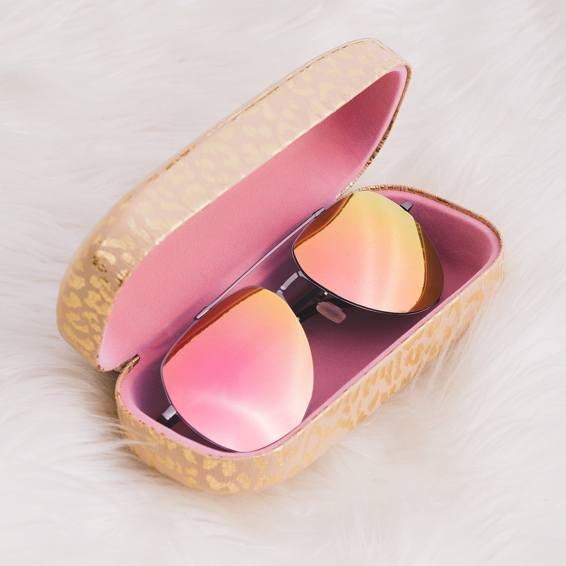 Elevated Basic Colors Sunglasses Case