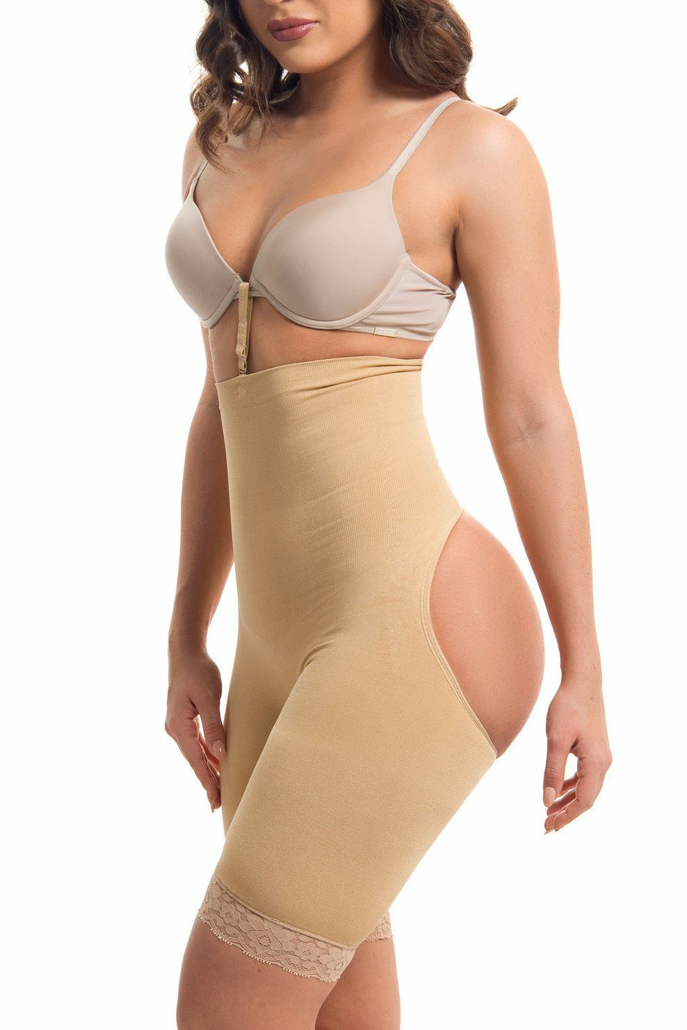 2203936b571 High Waisted Body Shaper   Butt Lifter NUDE -RESTOCKED – Fashion Effect  Store