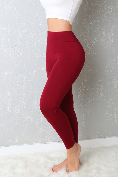 Leggins - My Favorite  Leggings Ever Burgundy